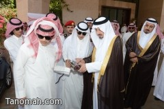 أمير عسير يدشن حملة ( وطني أحلى ) للسيارات المعدلة التي ينفذها فارس الشهري