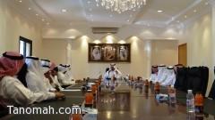 برئاسة الهزاني انعقاد الجلسة الأولى للمجلس المحلي بمحافظة تنومة