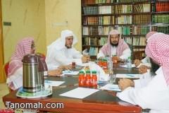 إجتماع لمناقشة البرامج الدعوية للعام القادم في محافظة تنومة