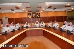 (تعليم النماص ) اجتماع اللجنة الرئيسية لاعتماد اللغة العربية الفصحى لغة الخطاب والتخاطب المدرسي