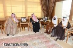 أمير عسير يستقبل أمين عام جمعية البر بأبها