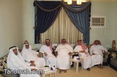 لقاء الثقافة والتاريخ والإعلام في منزل الدكتور عمر بن غرامة العمروي