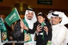 أمير عسير يشهد احتفال إدارة التربية والتعليم باليوم الوطني