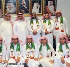 تعليم النماص : احتفاء ثانوية عثمان بن عفان باليوم الوطني 84