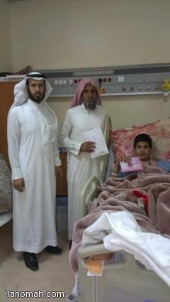 قسم التوعية الدينية بمستشفى الخميس العام يساهم في ادخال الفرحة على المرضى