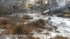 لهو أطفال يتسبب في نشوب حريق بالقرب من سكن مستشفى القوات المسلحة بالجنوب