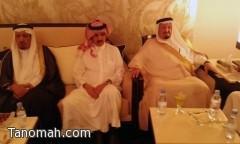 الشيخ علي بن سليمان يحتفي بالشيخ تركي العسبلي