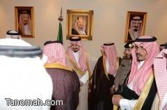 أمير عسير يلتقي أصحاب الفضيلة ومديري الإدارات الحكومية في جلسة سموه الأسبوعية