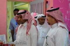 المشرف على المراكز الصحية والطب الوقائي بمحافظة بارق يدشن الحملة التوعوية لمكافحة سرطان الثدي