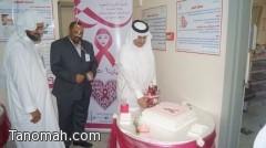 الكشف على 350 سيدة في اول يوم لحملة سرطان الثدي بمراكز قطاع الرعاية الصحية بباللحمر