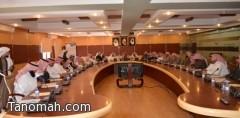 برئاسة آل قاسم  المجلس التعليمي بالنماص يعقد جلسته الاعتيادية