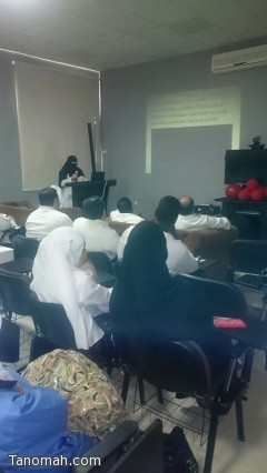محاضرات في مستشفى النماص بمناسبة اليوم العالمي للإيدز