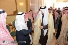 """أمير عسير ينقل تعازي القيادة في وفاة شهيد الواجب """" العسيري """""""