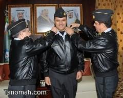 ترقية العقيد الركن معيض بن علي  آل جبره  إلى رتبة عميد