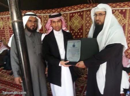 عبدالله وابن خزيم يحتفون بخليل بن ظافر الأثلي