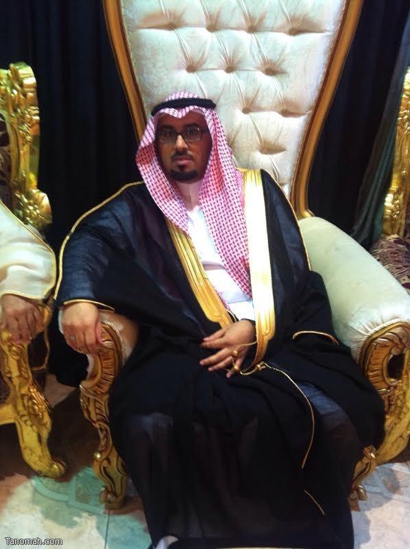 عبدالله ال ثربان عريساً