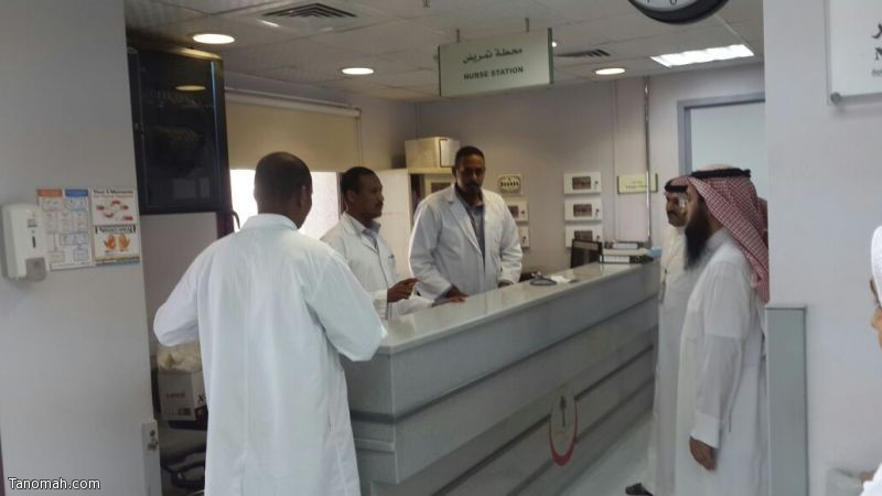 الدكتور فهد بن شار يستعد لبدء عيادته الخيرية بمستشفى تنومة