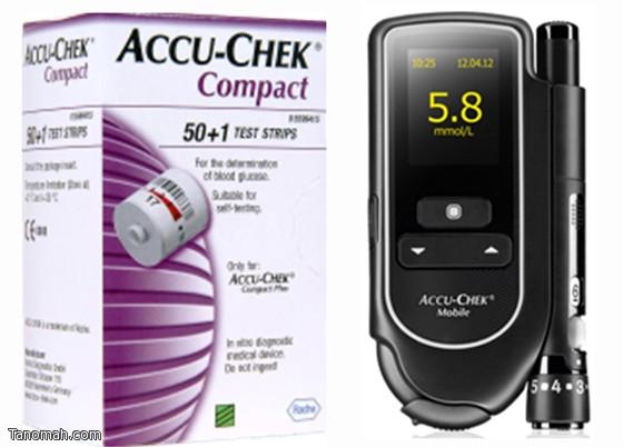 تنبيه لمستخدمي أشرطة قياس السكر «أكيو- شيك كومباكت»