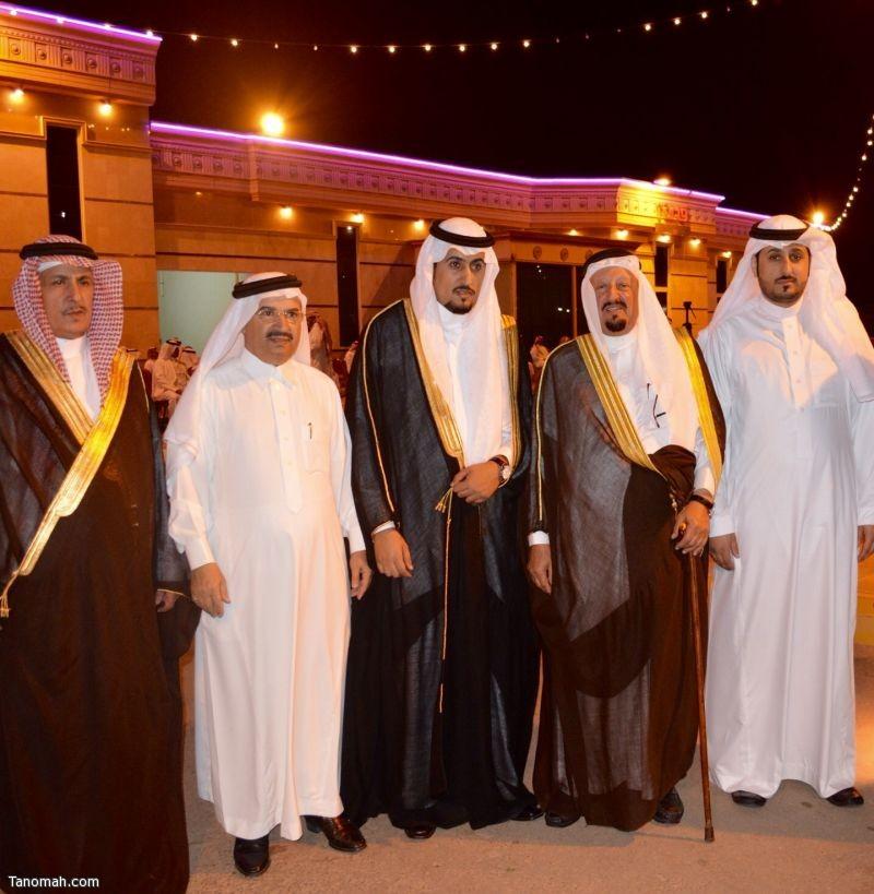 علي بن سعد يحتفل بزواج نجله عبدالعزيز