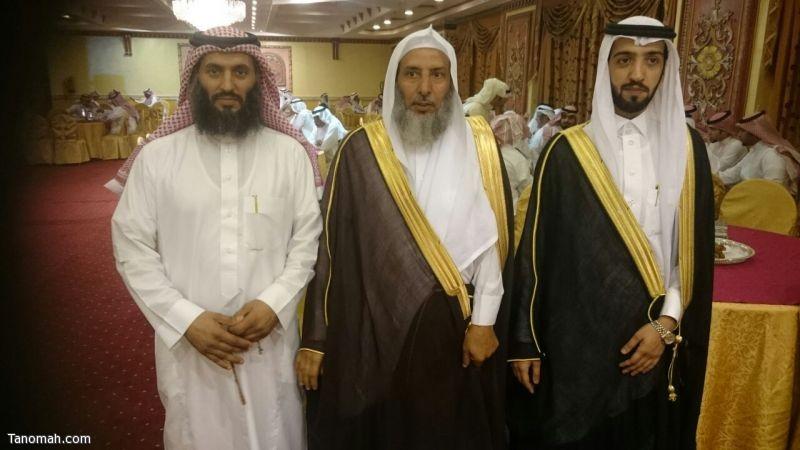 الشيخ عثمان يحتفل بزواج نجله عبدالعزيز