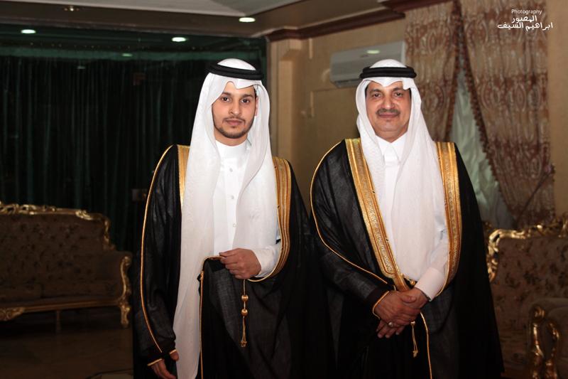 اللواء حسن الشهري يحتفل بزواج الدكتور محمد
