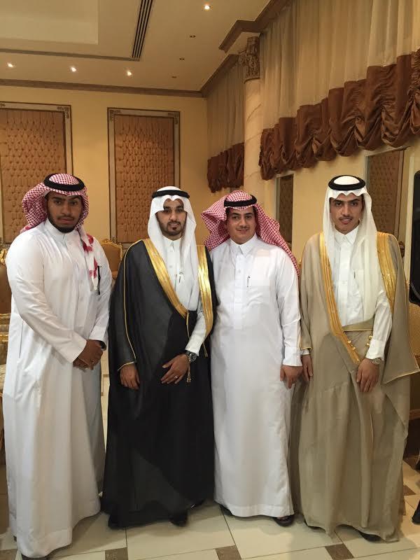 عبدالرحمن بن فهد يحتفل بزواج عبدالله