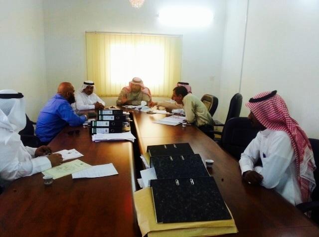 """بلدي تنومة يطلق اسم """"الملك سلمان"""" على أحد الطرق الجديدة في المحافظة ويستعرض عدد من المشاريع"""