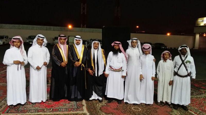 الملازم عبدالله آل عثمان عريساً