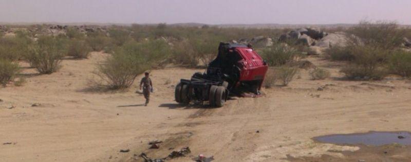 وفاة ثلاثة أشخاص في حادث مروع على طريق الرياض- خميس مشيط