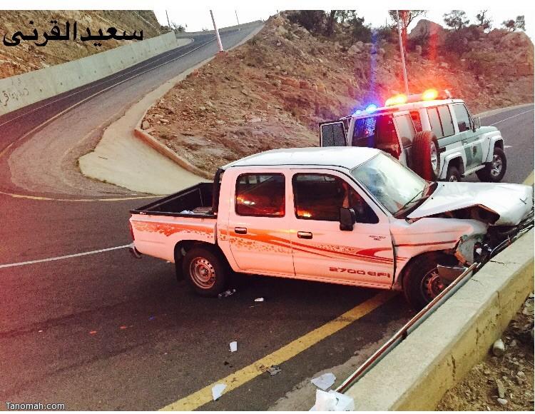 8 إصابات في حادث لعائلة بعقبة برمة