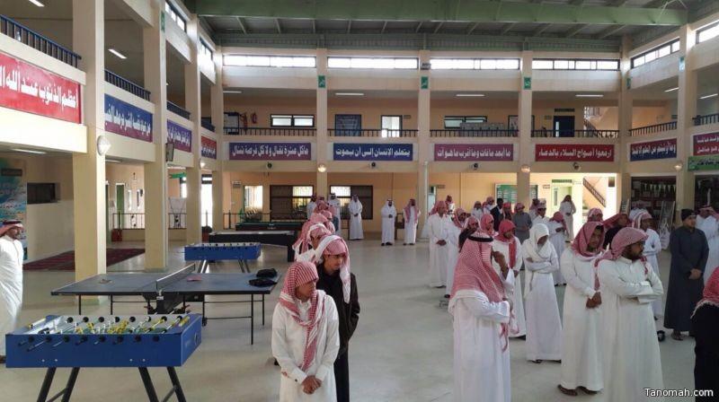 ثانوية عثمان بن عفان تنفرد بتطبيق قاعات التعلم النشط بأسماء الشهداء