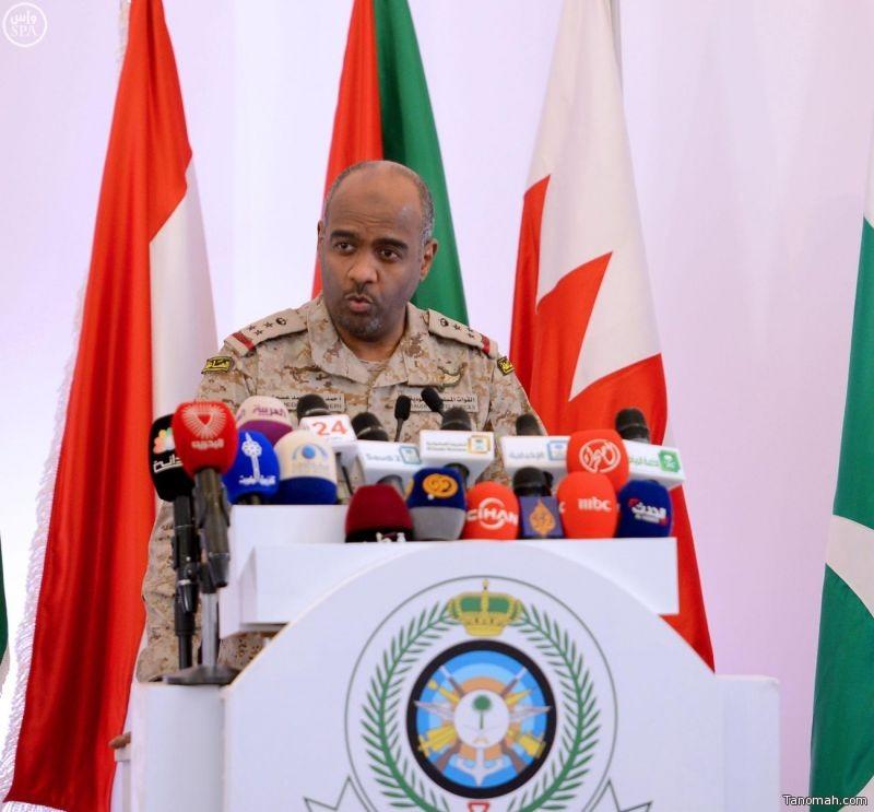 العميد العسيري ينفي خبر إنزال بري لقوات التحالف في عدن