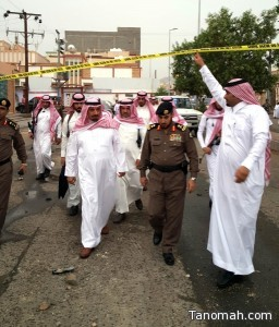 مدني نجران:استشهاد قائد دورية تابعة لسجون نجران , ومقتل أربعة أشخاص وإصابة 11 آخرين تعرضوا لمقذوفين من داخل الأراضي اليمنية