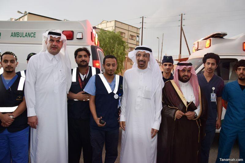 معالي وزير الصحة يزور عدد من المستشفيات بمنطقة عسير