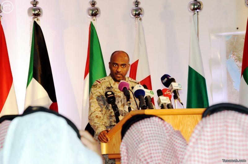 قيادة التحالف: صعدة هدف عسكري اعتباراً من السابعة مساء اليوم