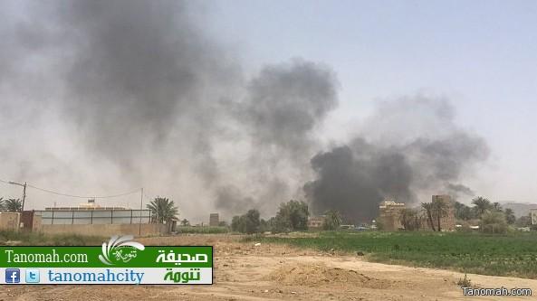 وزارة الدفاع: سقوط مقذوفات في منطقتي نجران وجازان