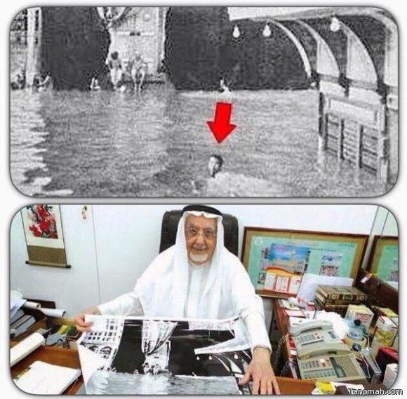 وفاة الشيخ البحريني الذي طاف حول الكعبة المشرفة سباحة