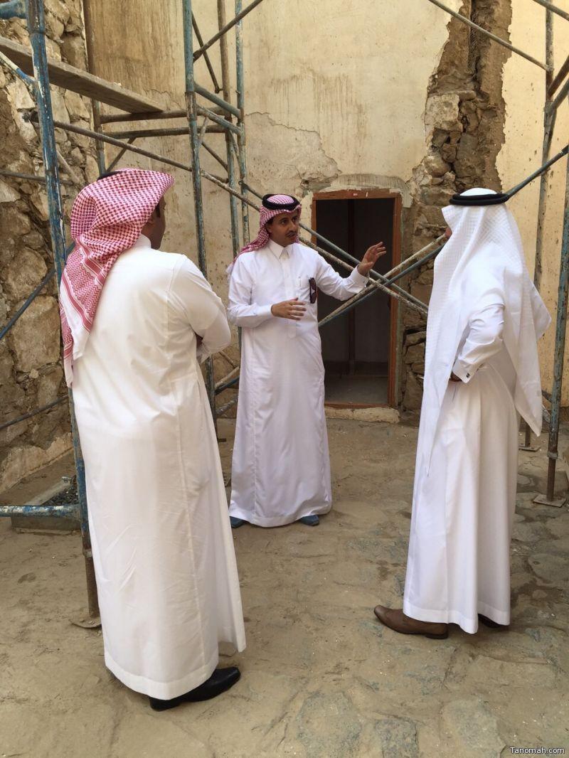 مشاريع مبادرة عسير على طاولة نائب رئيس السياحة وأمين المنطقة