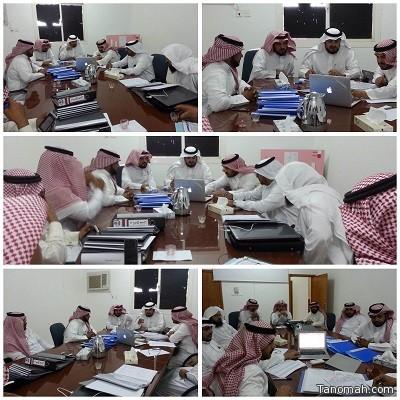 آل عاطف يترأس ورشة العمل الإشرافي بمكتب تعليم بني عمرو