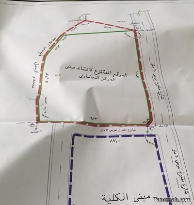 اعتماد مشروع المركز الحضاري في تنومة والتنفيذ قريبا