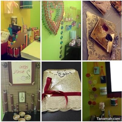 افتتاح معرض الأشغال الفنية واليدوية وإعادة التدوير بتنمية النماص الأهلية