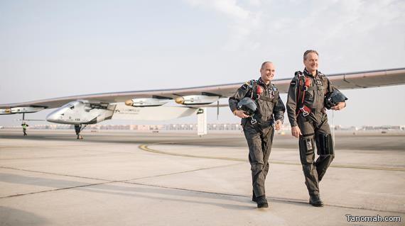 نجاح تجربة الطائرة التي تعمل بالطاقة الشمسية بأرقام هائلة