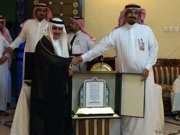 أولياء الأمور لذوي الاحتياجات الخاصة يكرمون الاستاذ عبدالله بن فايز الشهري على جهوده