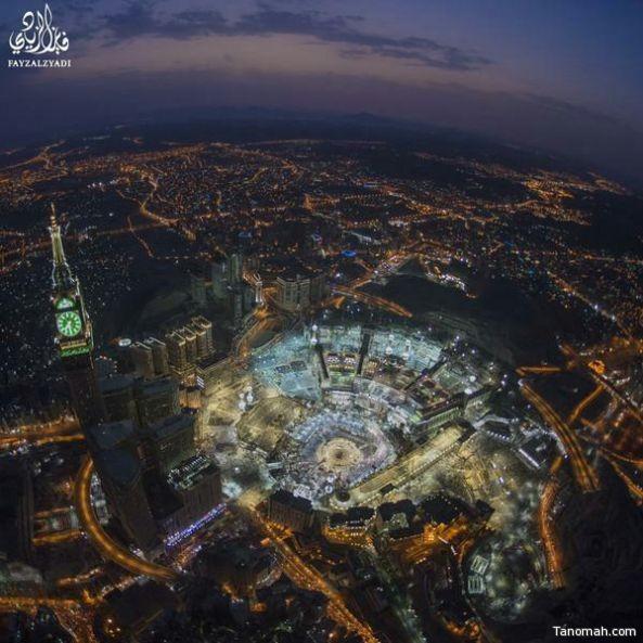 بالصور : ليلة السابع والعشرين بالمسجد الحرام والمسجد النبوي والمسجد الأقصى