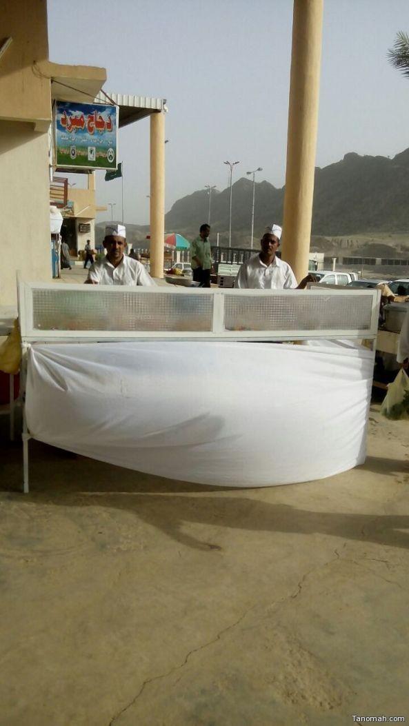 250 جولة لبلدية بحر أبو سكينة تغلق 37 محلاً تجاريا