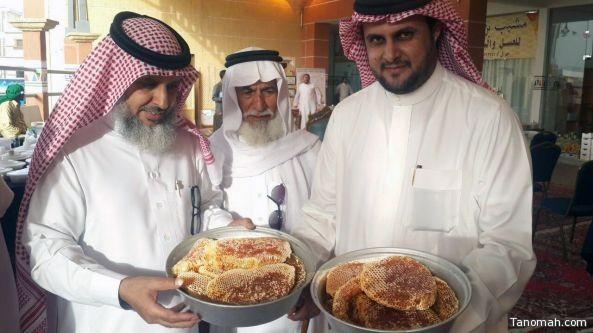آل قاسم يدشن مهرجان عسل النماص الأول