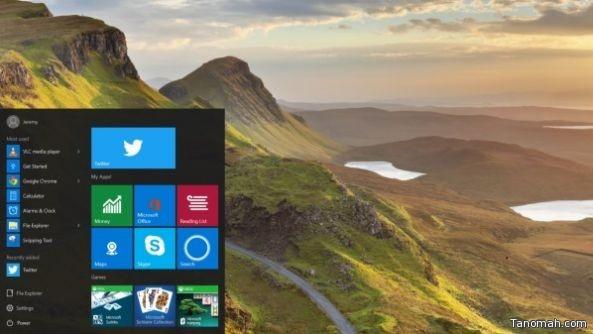 تويتر تطلق نسخة خاصة بنظام ويندوز 10 الجديد من تطبيقها