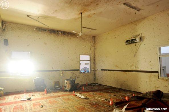 النايف:تفجير مسجد الطوارئ عمل إجرامي جبان