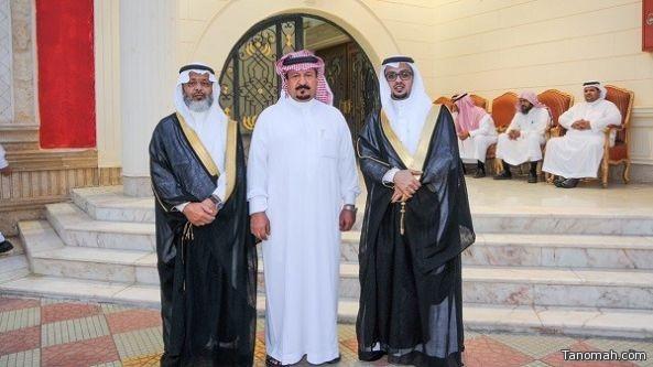 """(افراح ال بن عاطف) بـ """"زفاف المهندس محمد بن عبدالرحمن بن عاطف"""""""