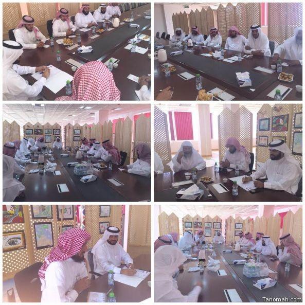 آل قاسم يجتمع بقيادات الإدارة ويشدد على تنفيذ برنامج الأمن الفكري